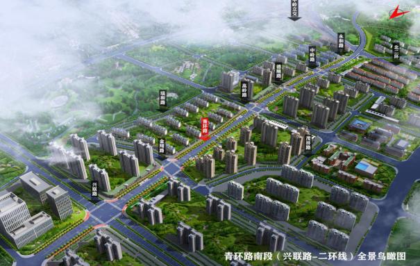 必威APP下载开福区青环路(兴联路—二环线)道路betway必威电竞设计